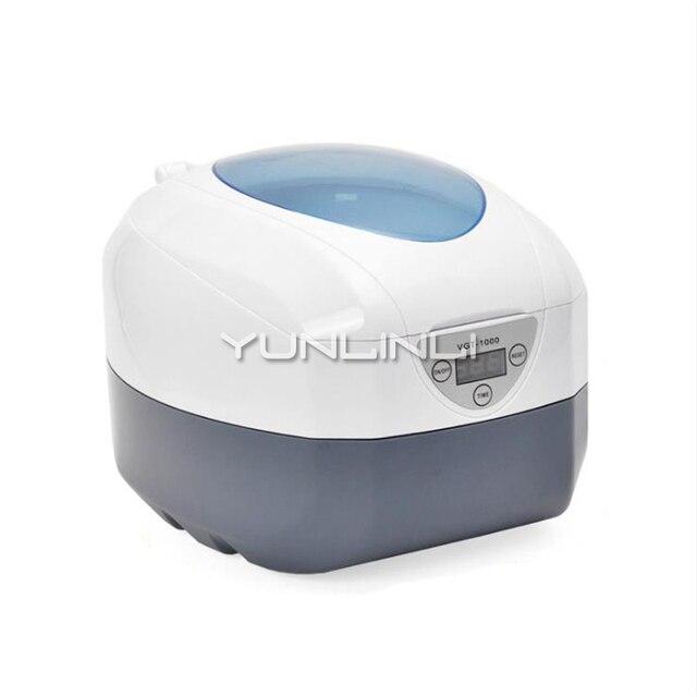 Ultrasonic Cleaner Sterilizer Household Glasses Jewelry  Watch Washing  Equipment Pot Denture Razor Head Small Cleaning Machine