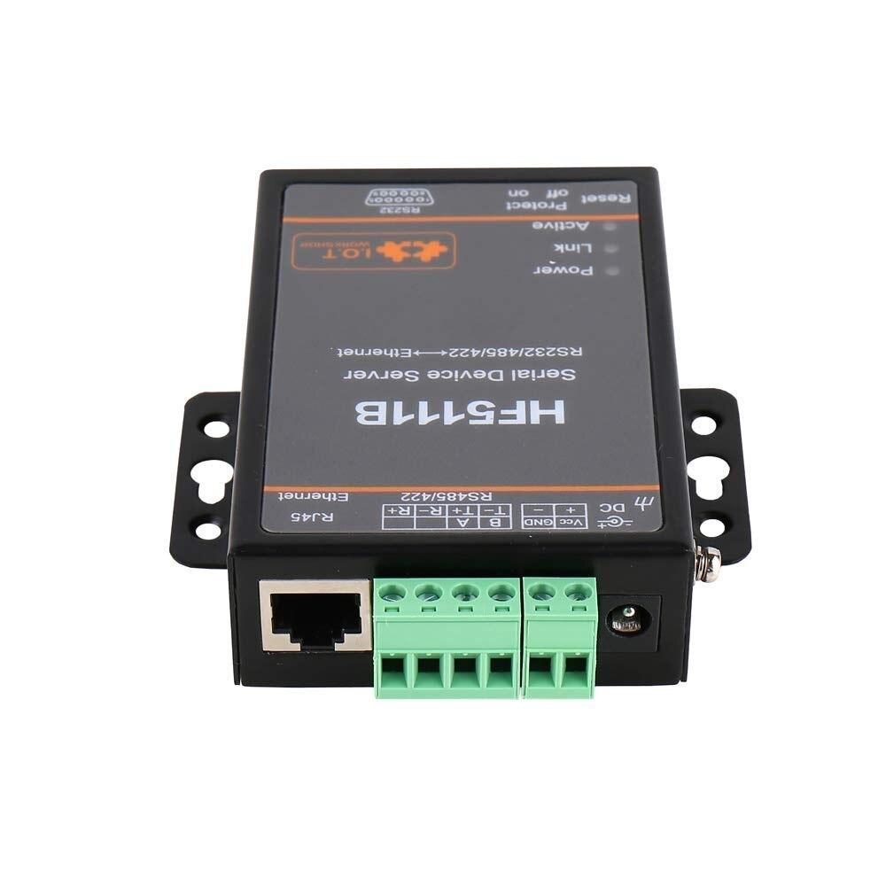 RJ45 industriel RS232/485/422 série à Ethernet libre RTOS série 1 Port serveur convertisseur dispositif - 4