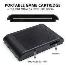 燃焼mdゲームカードフラッシュカードフラッシュドライブメモリカードMD1/MD2 / MD3 / CD X/32Xと他のオリジナルmdホスト