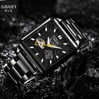 2017 Mens Watches Top Luxury Brand Winner Fashion Skeleton Clock Men Sports Automatic Watch Mechanical Relogio