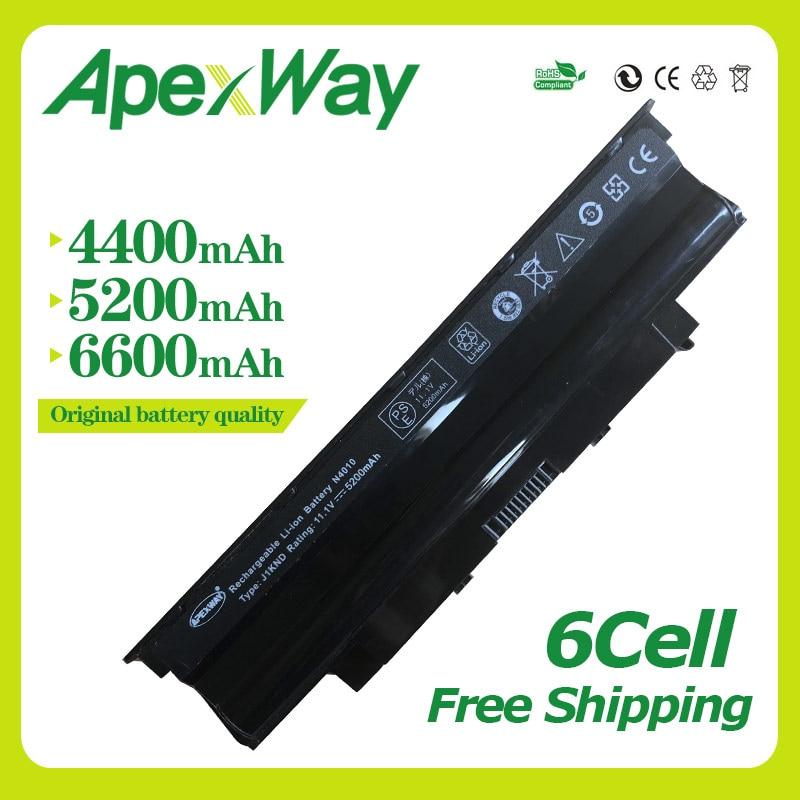 Apexway 11.1V Laptop Battery for Dell Inspiron n5110 N5010 N5010D N7010 N7110 M501 M501R M511R N3010 N4010 N3110 N4050 N4110