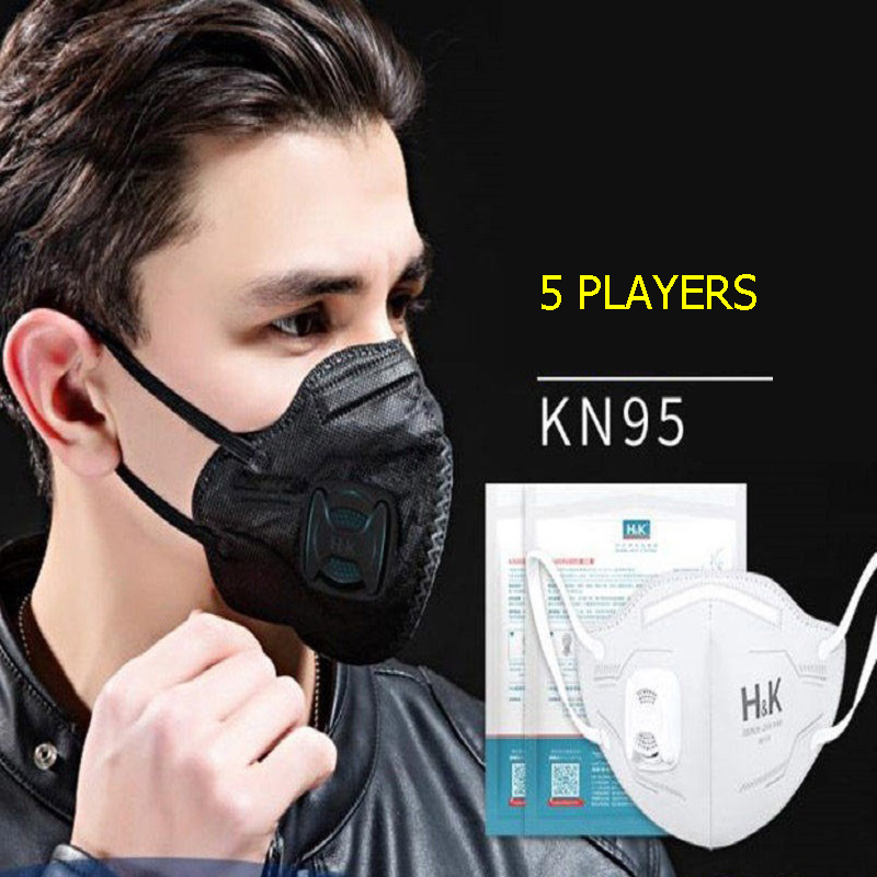 Workplace Safety Supplies Masks Hot Sale 5pcs Disposable Outdoor Humidifying Anti-fog Haze Mask Respirator Peppermint Pm2.5 Anti Dust Haze Mouth Muffle Face