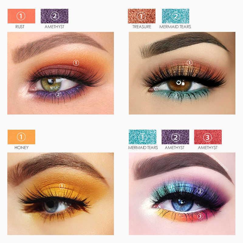 FOCALLURE, высокое качество, 30 цветов, палитра теней для век, блестящие матовые Пудровые оттенки, палитра для макияжа, тени для век