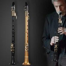 Простой маленький саксофон инструмент тройной тенор аутентичный взрослый Начинающий Мини карманный 18 весов saxphone