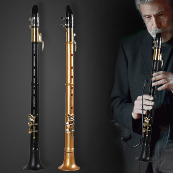 Prosty mały instrument saksofonowy treble tenor autentyczny dorosły początkujący mini kieszeń 18 wagi saxphone tanie i dobre opinie MoonLady Bakelite Falling Tune B (C) plastic Black Nickel Gold