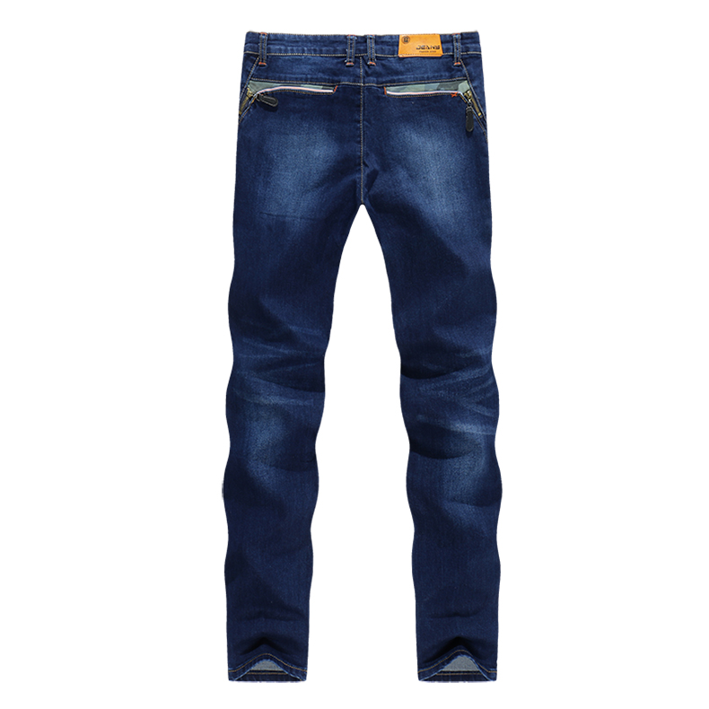 KSTUN Men's Slim leg Jeans stretch skinny fake zipper designer clothes for men fashion casual denim
