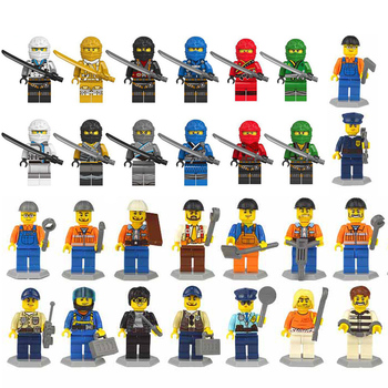 28pcs/lot Ninjago Compatible With LegoINGLYS Figures Weapon Model Building Blocks Bricks Kid Holiday Gift Baby Toys For Children legos for boys ninjago