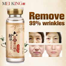 Meiking Argireline + пептиды коллагена против морщин Сыворотка для ухода за кожей лица Коллаген омолаживающий крем Essence Увлажняющий Отбеливание