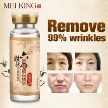Argireline + péptidos de colágeno antiarrugas Suero para el rostro Colageno Esencia anti-envejecimiento cuidado de la piel crema Hidratante Para Blanquear