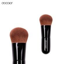 Docolor kabuki cepillo curvo suave cerdas fundación cepillo componen cepillos de belleza herramienta de maquillaje esencial