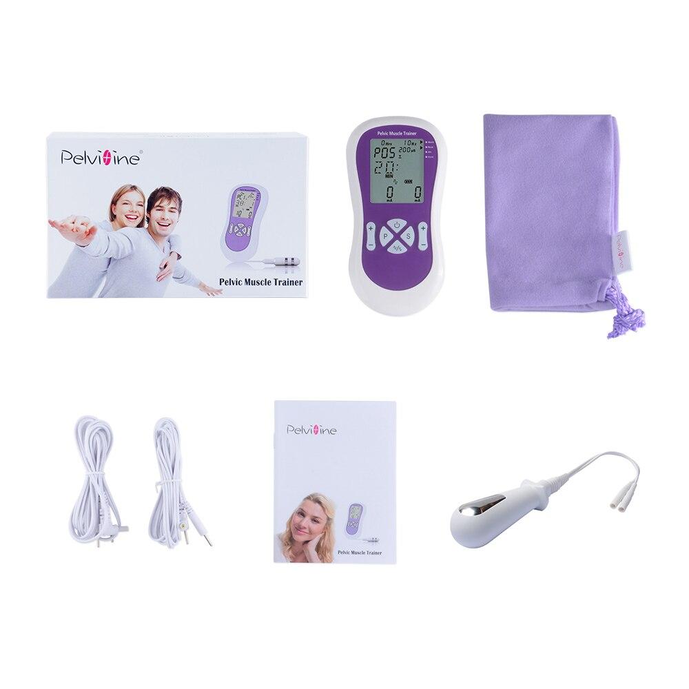 Pelvic Muscle Electrical Trainer Med Vaginal Probe Kegel Exerciser - Sjukvård - Foto 1