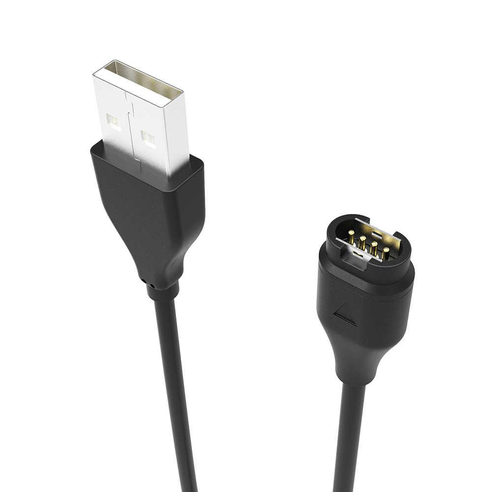 Около 1 м 3.3FT USB быстрой зарядки Зарядное устройство кабель для передачи данных Wire шнур для Garmin Fenix 5 5S 5X Forerunner 935 smartwatch зарядки данных