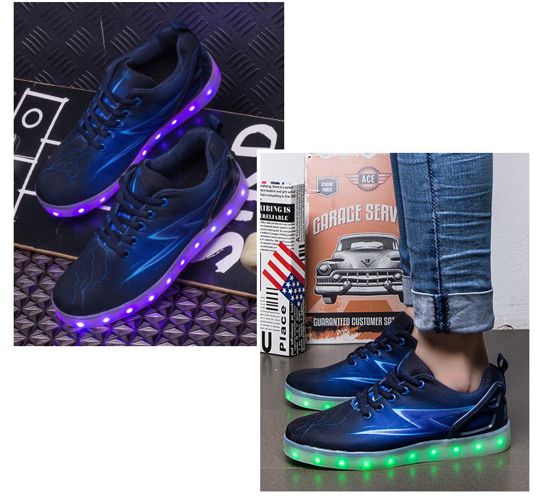 Led Sneakers Lightning 15