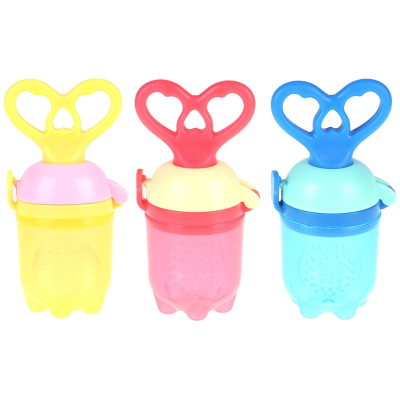 Baby Pacifier Feeding Fruit Food-grade PP Safe Infant Soother Teether Bite Nipple Baby Supplies Teat Pacifier Bottles Nipple