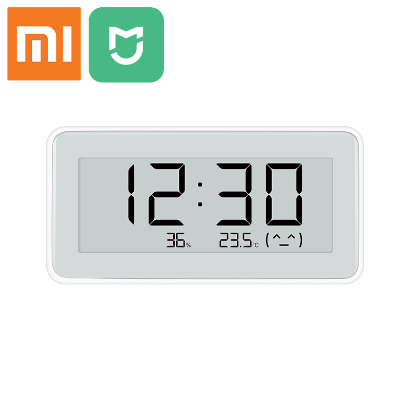 NEW Xiaomi Mijia Smart Bluetooth Emoticon Temperature Humidity Digital Sensor E-ink Screen Family Use Thermometer Moisture Meter