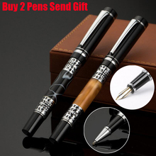 Free Shipping Classic Design Luxury Metal Fountain Pen Hot Selling The Best Quality Brand Gift Buy 2 Pens Send