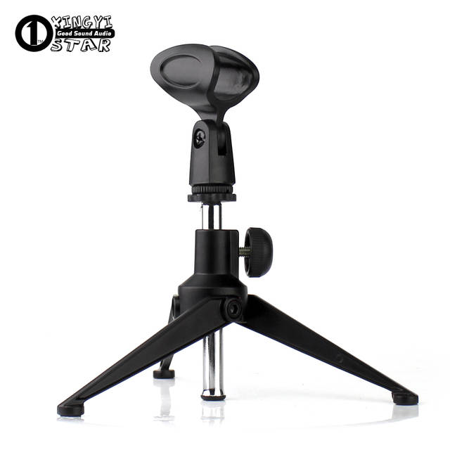 Stupendous Us 11 98 Metal Adjustable Desktop Handheld Tripod Microphone Stand Boom Mic Holder Desk Mike Clamp Clip Mount Support For Rode Nt3 Nt4 M3 In Mic Interior Design Ideas Clesiryabchikinfo