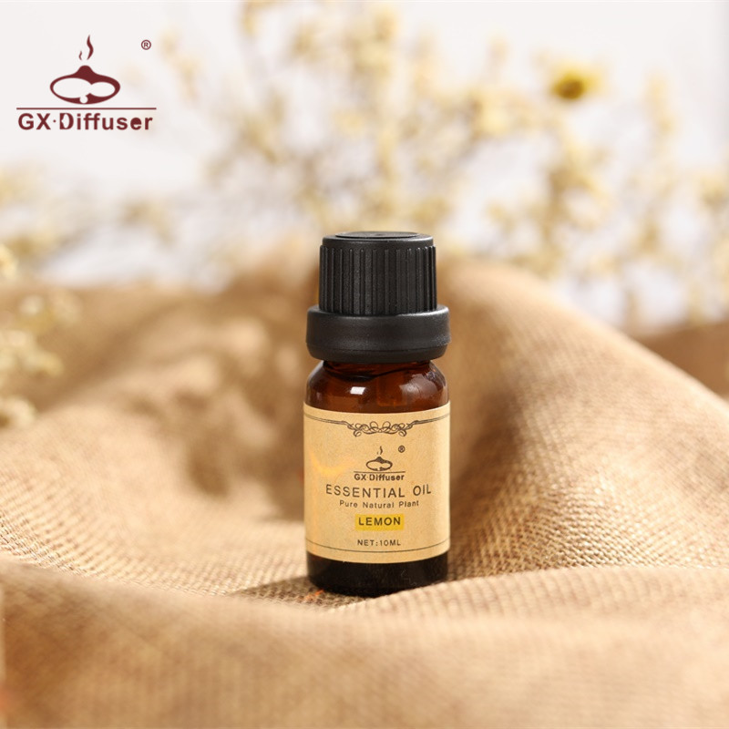 GX.Diffuser 10ml Pure Natural Essential Oil for Aroma Diffuser,Water-soluble Oil for Humidifier 2 Kinds Fragrance of Lemon,Rose creativity essential oil blend true botanical 100% pure and natural undiluted high quality therapeutic grade blend of rosemary clary sage hyssop marjoram cinnamon 5 ml