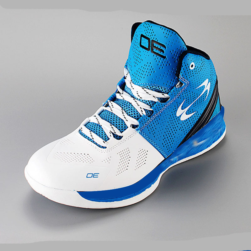 Big Kids Basketball Shoes Boys Girls Shockproof Sport Running Walking Shoes Blue Teenage Sneakers Chaussure Basket