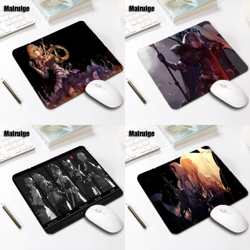 Fate//Apocrypha Joan of ArcJeanne d/'Arc Game Mouse Pad Anti-slip Large Mouse Pad