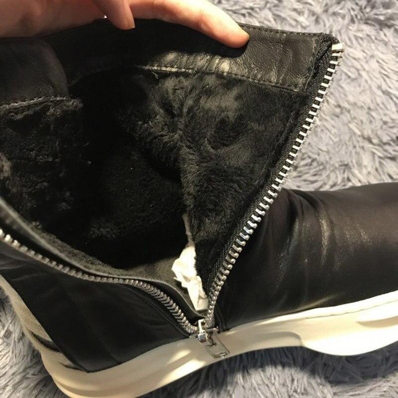 Nouveau mode rouge fonds or haut et métal orteil hommes velours chaussures décontractées hommes mocassins à la main grande taille hommes appartements livraison gratuite - 6
