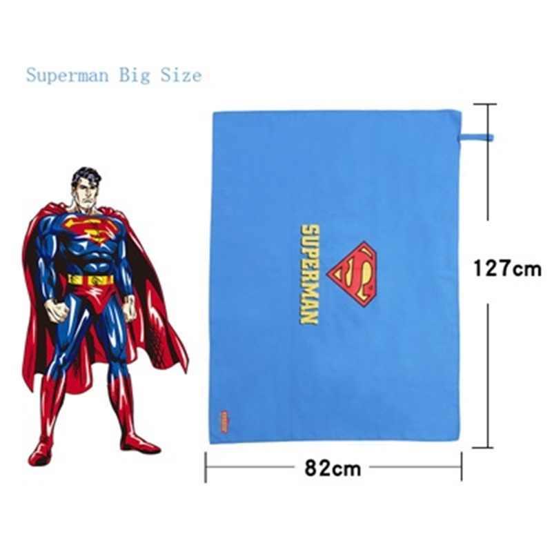 子供速乾ビーチタオルスーパーヒーロー漫画バスタオル旅行キャンプジムスポーツ水泳毛布スーパーマンフラッシュバットマン