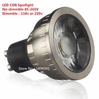 Alta calidad GU10 9W 12W 15W bombilla LED dimmble 110V 220V blanco cálido/blanco puro/blanco frío 120 Ángulo de haz