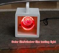 Vechicle Solar Control Window Film Heat Rejection Performance Demonstration Heat Lamp Unit Machine KD 02