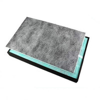 Air Purifier Parts Activated Carbon Filter FZ C70VFS + HEPA Dust Collection Filter for Sharp KC W200SW Z200 Air Purifier