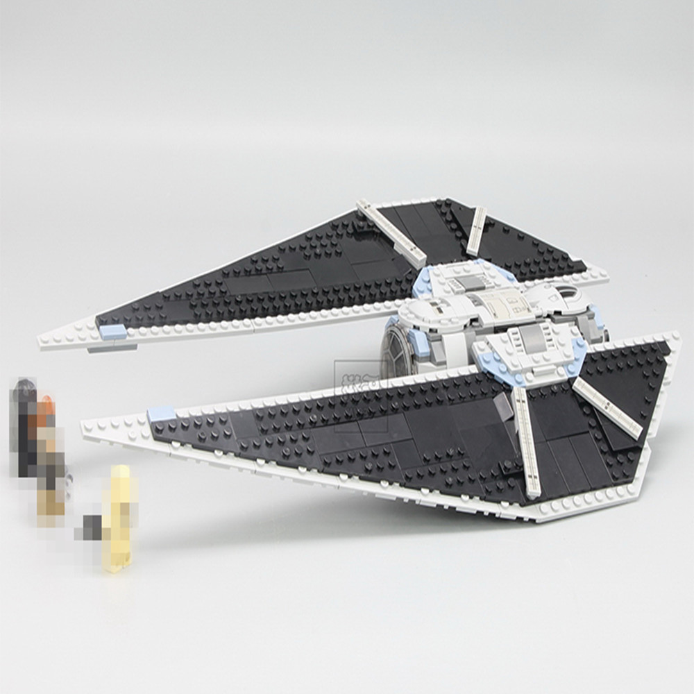 New Lepin 05048 Star Classic Model Wars 543Pcs The TIE Striker Building Blocks Bricks Toys Compatible with 75154 children Gift