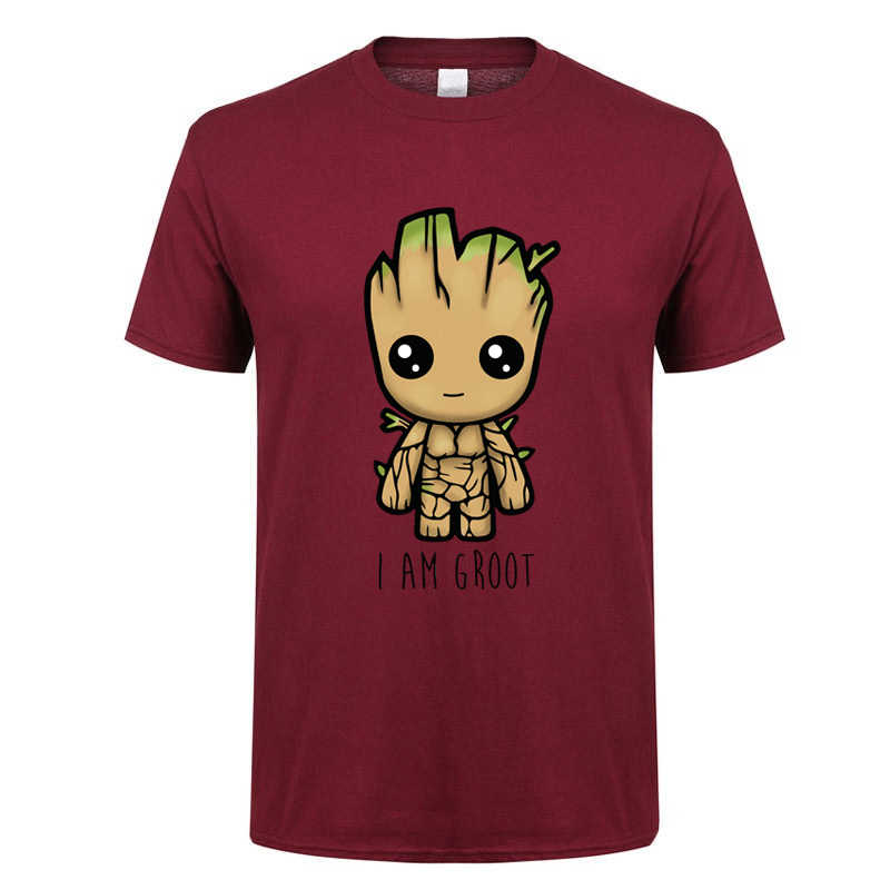 Groot Niña Hop Casual Hip Nuevo Camisetas Am I Moda Niño Harajuku 2018 Streetwear Camiseta Top Nuevas Para Hombre 35AR4jL