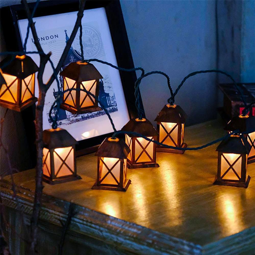 Retro Old House Decorative Lights Led