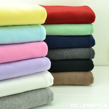 50*170cm New autumn and winter Natural cotton Lycra knitted cloth sanding baby  stretch tight infants close cotton fabric