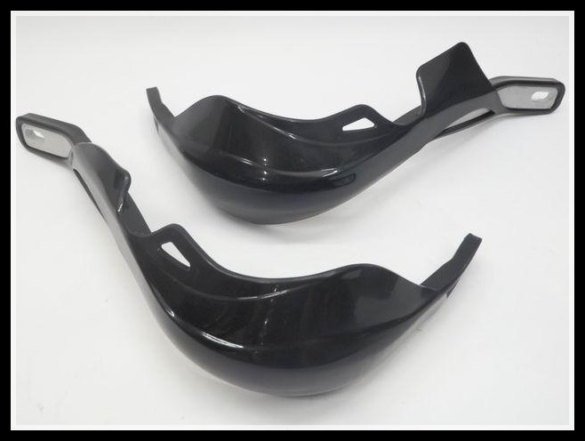 Hand Guards Handguard for  kawasaki KLX300 KLX450R KMX KLR 7/8 Mountings Clamp Black