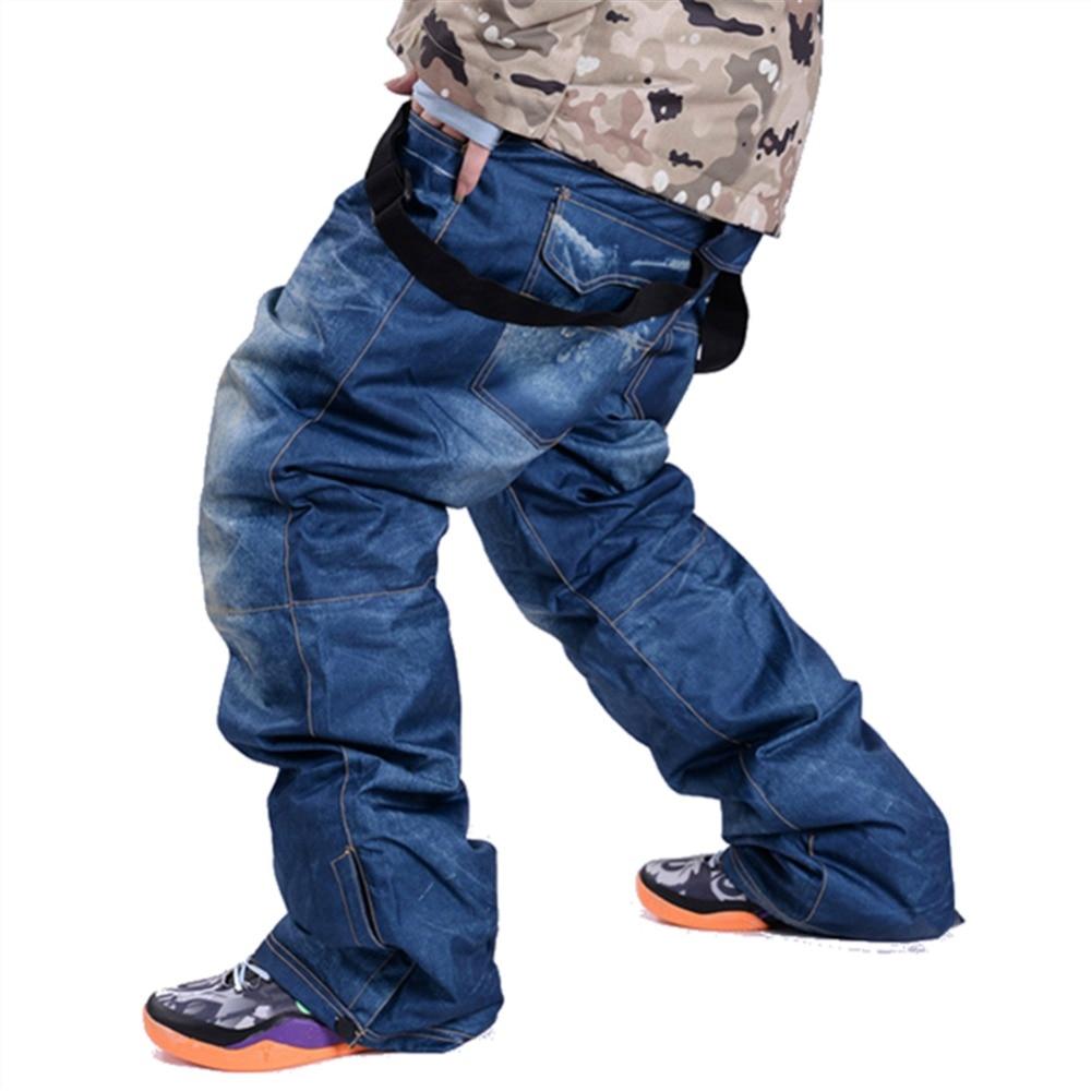 Profesión SAENSHING Hombres Pantalones de Esquí de Invierno Al Aire Libre Pantalones  de Snowboard Pantalones A 166165ded3f