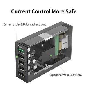Image 4 - ORICO QC 2.0 Bộ Sạc Với 6 Cổng Sạc USB Thông Minh Để Bàn 5V10A 50W Max Đầu Ra Cho Điện Thoại Di Động điện Thoại Sạc USB