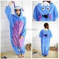 NEUE Partei Kleidung Frauen Männer Eeyore Donkey Monster Sulley Cosplay Pyjamas Tier Onesies Pyjamas Nachtwäsche Weihnachten