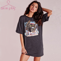 Plus Size T Shirt Women Eagle Print Long T Shirt 2018 Summer Funny T Shirts Big Sizes 5XL 7XL 6XL T Shirt Women Streetwear Cloth