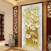 5D DIY Diamond Painting Crystal Lily Flower 3D Cross Stitch Decorative Needlework Embroidery Full Round Rhinestone
