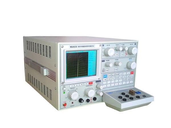 Schermo display a colori digitale WQ4830 con USB Transistor Curve Tracer Collettore di corrente 50A diodo tensione 5kV