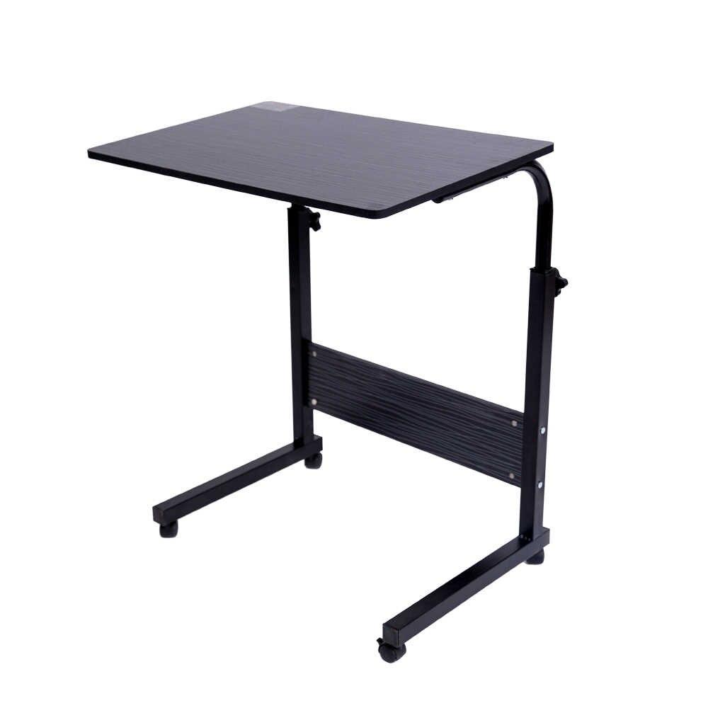 Mesa de ordenador portátil 2018 60*40 CM mesa de ordenador portátil ajustable rotar mesa de cama de ordenador portátil se puede levantar Escritorio de pie