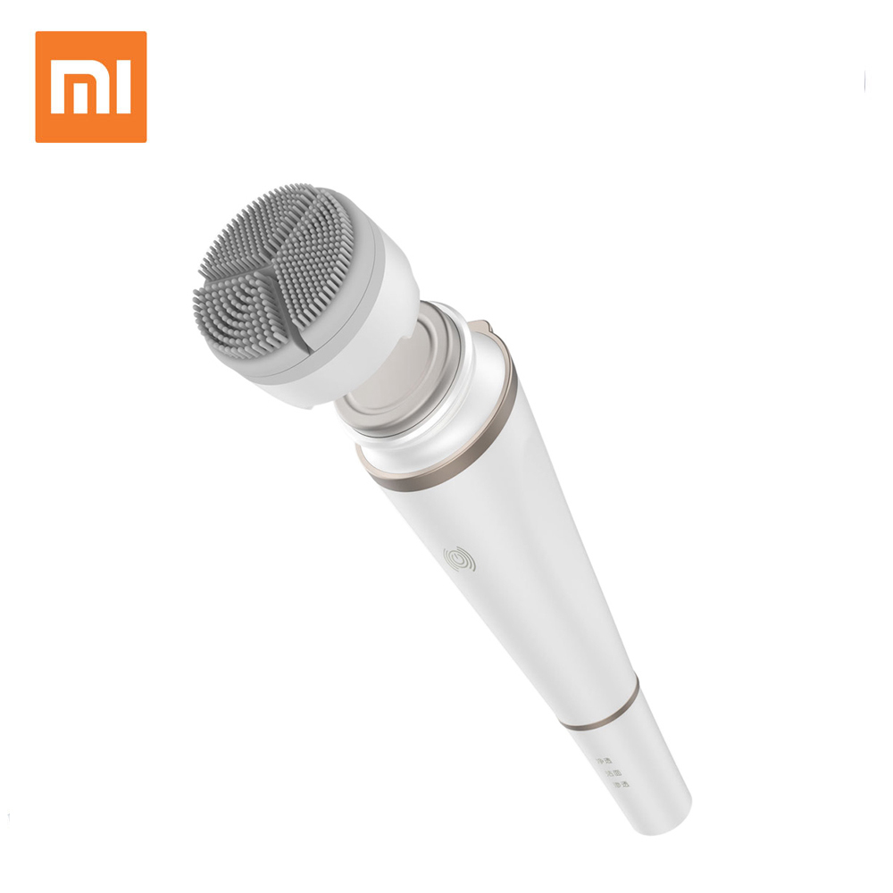 Xiaomi inFace Sonora escova de Limpeza Instrumento de Beleza Facial Rosto Cuidados Com A Pele Massageador Eletrônico para A Sujeira do Óleo de Limpeza Maquiagem