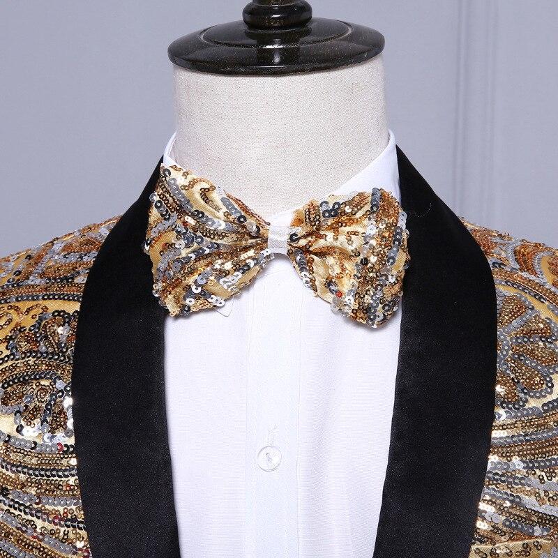 HTB1F36JPFXXXXcbXVXXq6xXFXXXq - (Куртка + Брюки для девочек) розового золота Блёстки Мужская Мода с блестками свадебные жених Костюмы Для мужчин блесток блейзер для ночного клуба Бар DJ певица тонкий костюм