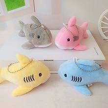 12 см, брелок подарок Акула плюшевая мягкая игрушка кукла, детские маленькие мини-плюшевые игрушки