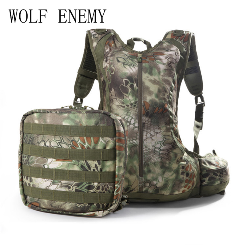 20L Tactical Outdoor Hunting Backpack Sports Camouflage Backpack Waterproof Durable Breathable сумка overboard pro vis waterproof backpack 20l ob1157hvo