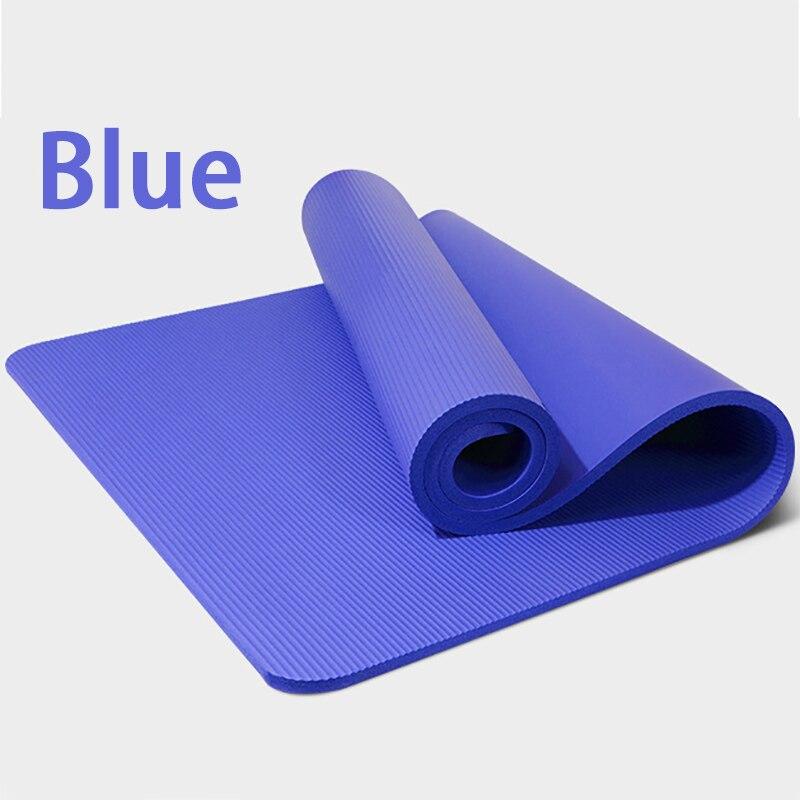 ✔  NBR Yoga Mat 10 мм Начинающий 185   80 см Домашний Тренажерный Зал Упражнение Коврик Нескользящий Эк ✔