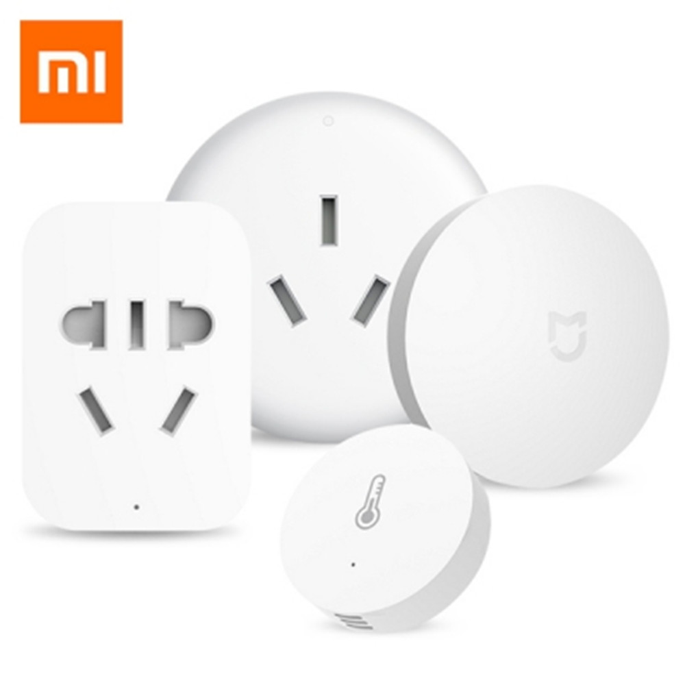 все цены на Xiaomi Smart Home Kit Aqara Temperature Control Set Wireless Switch + Humidity Sensor + Air Conditioner + ZigBee Outlet