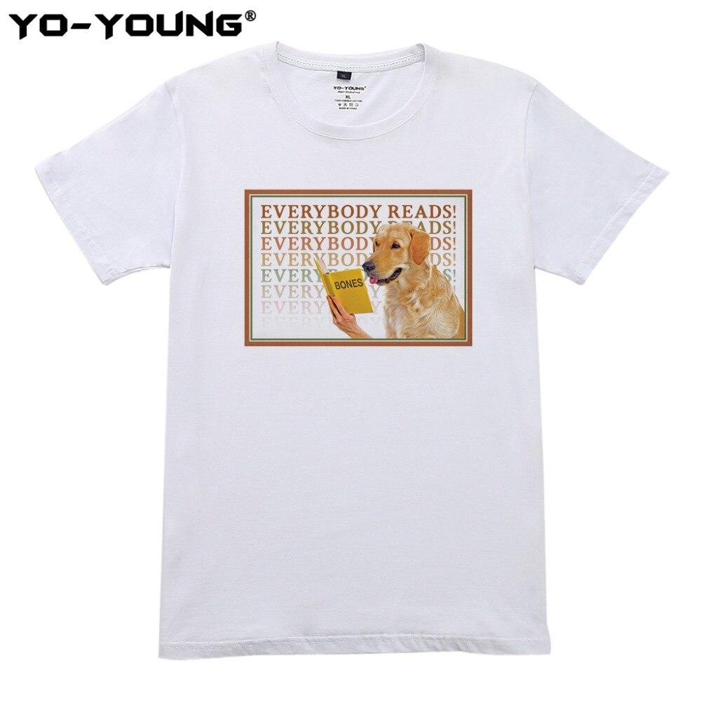 Для мужчин летние футболки забавные все читает футболки цифровая печать 100% 180 г/м² хлопок футболки Homme Индивидуальные ...