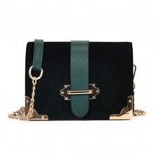 Alça de Cadeia de luxo Mulheres Bolsa de Couro PU Mulheres Messenger Bags Crossbody Designer de Senhoras bolsa de Ombro Bolsa Feminina
