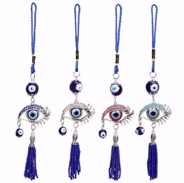 Evil Eye Wall Hanging aliexpress : buy car interior decoration evil eye pendant car